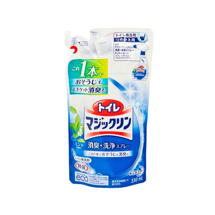 花王 萬潔靈 - 除臭潔淨泡沫補充裝(廁盆、座廁專用) - 330ML