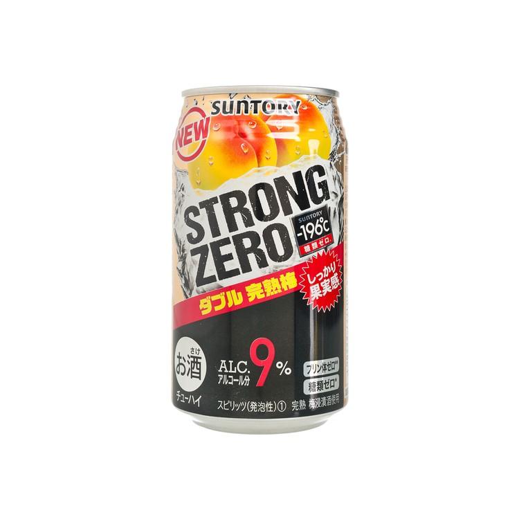 三得利 - 碳酸酒-STRONG ZERO-雙重完熟梅 - 350ML