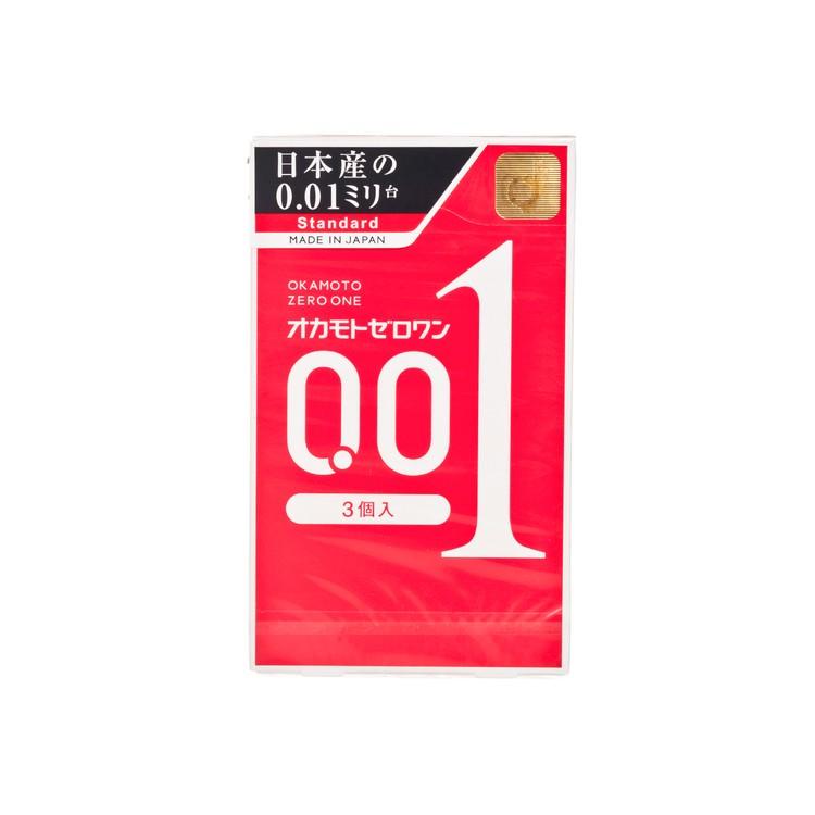 岡本 - 0.01 極限超薄安全套(日本版) - 3'S