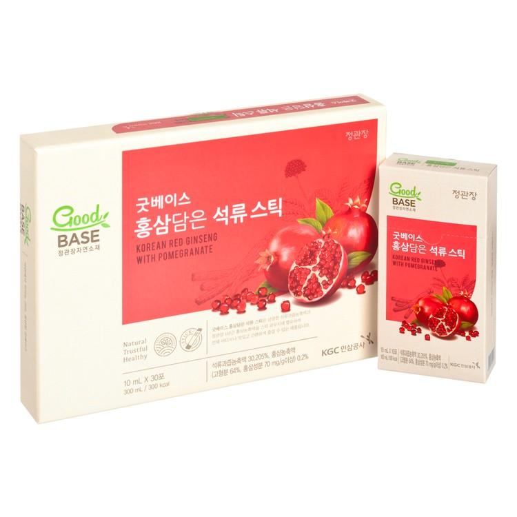 CHEONG KWAN JANG - RED GINSENG & POMEGRANATE GIFT SET - 10MLX30'S