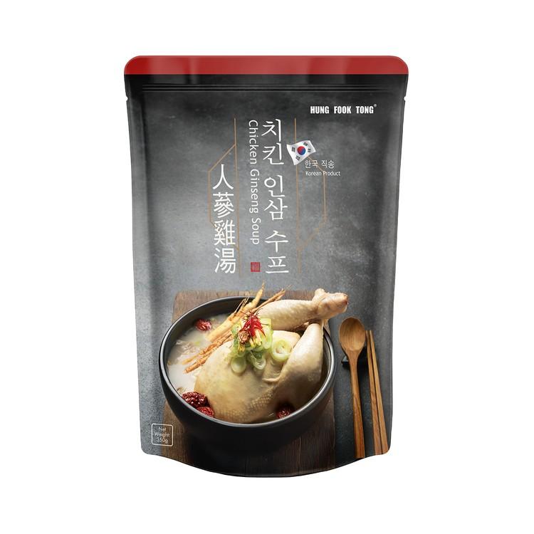 鴻福堂 - 人蔘雞湯 (含湯料) - 350G