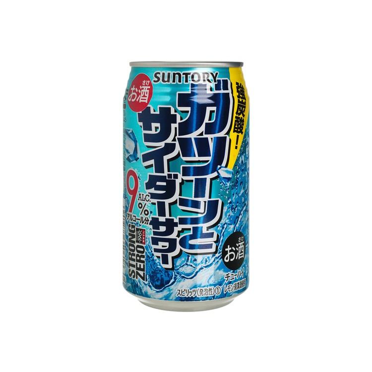 三得利 - 碳酸酒-STRONG ZERO-強炭酸 - 350ML