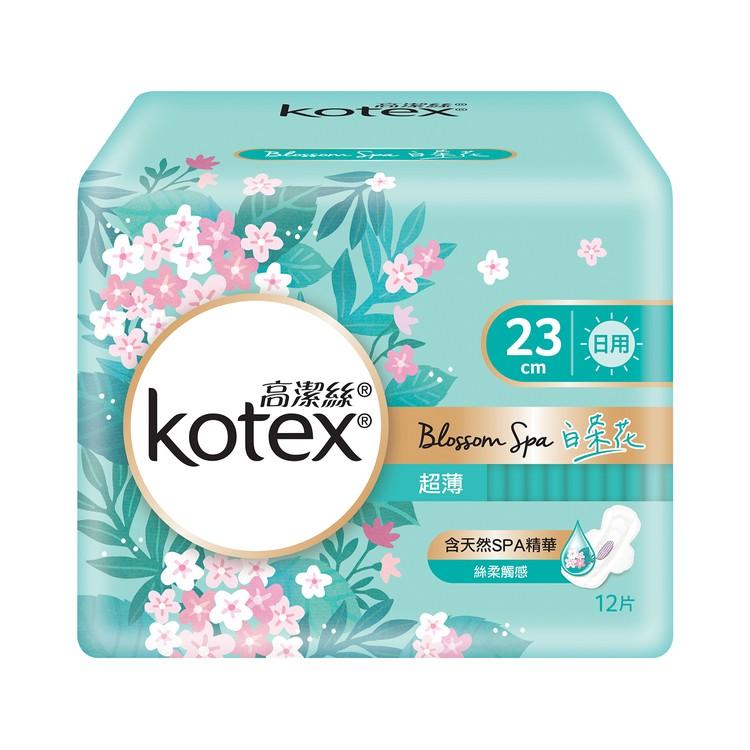 KOTEX - BLOSSOM SPA WHITE TEA UT 23CM - 12'S