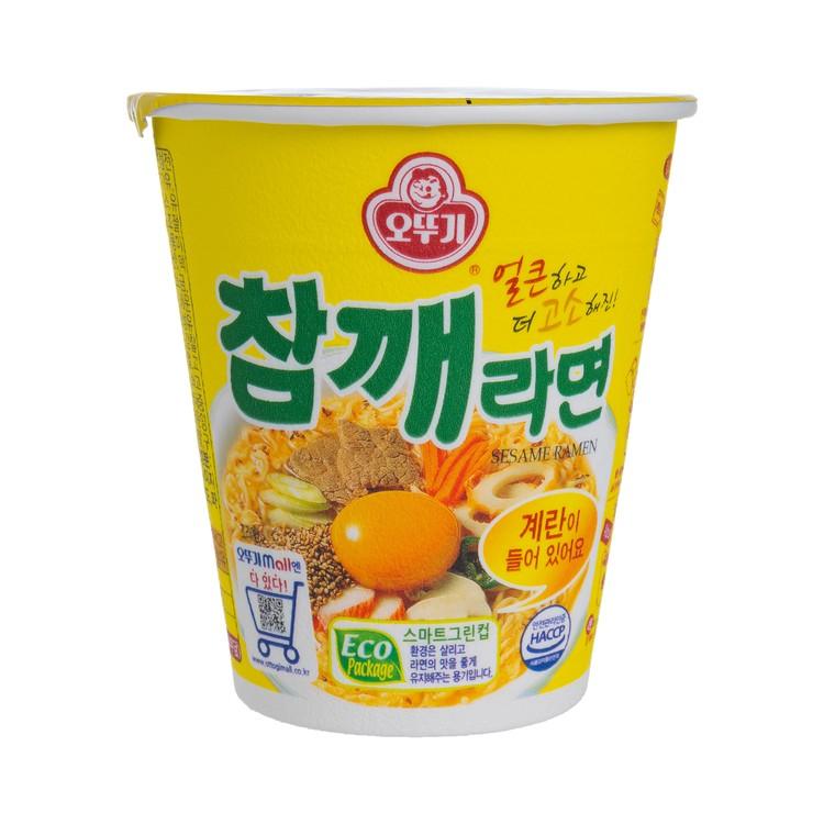 不倒翁 - 杯麵-真拉麵-芝麻味 - 65G