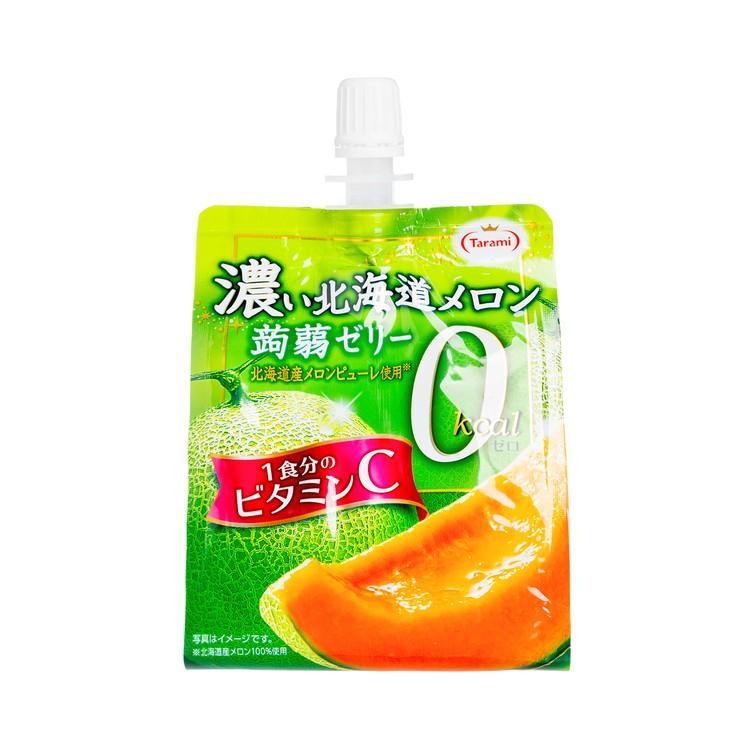 TARAMI - KONNYAKU JELLY DRINK-HOKKAIDO MELON(0 KCAL) - 150G