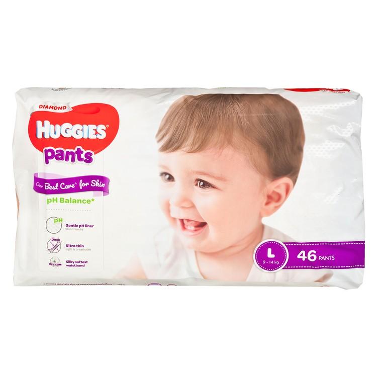 HUGGIES - DIAMOND親膚學習褲(大碼) - 46'S