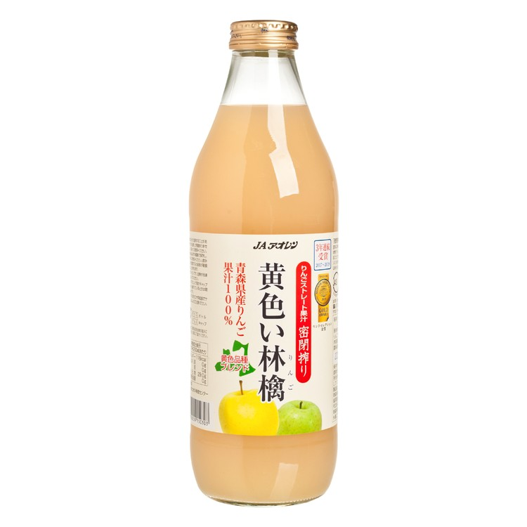 KIBOU NO SHIZUKU - 青森黃色林檎蘋果汁 - 1L