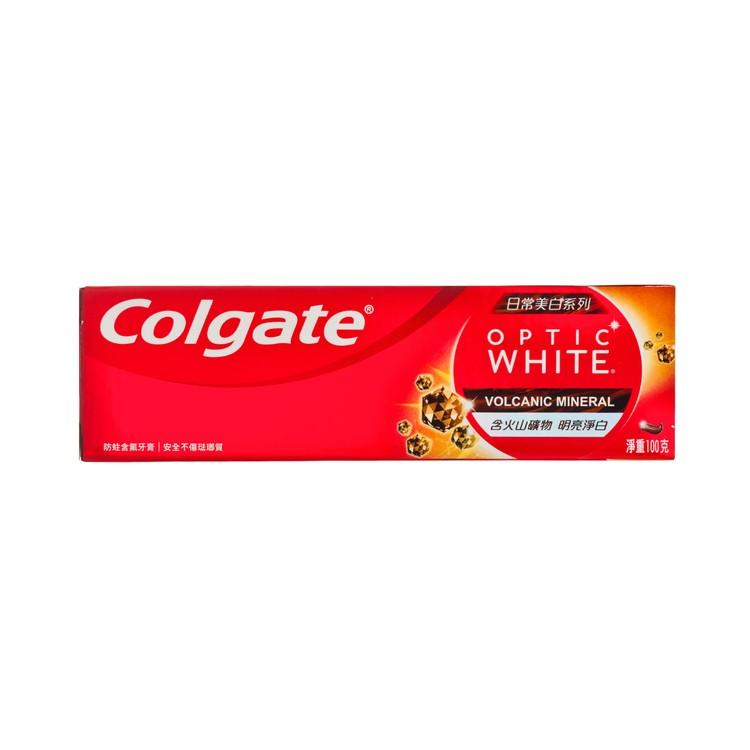 COLGATE - OPTIC WHITE-VOLCANIC TOOTHPASTE - 100G