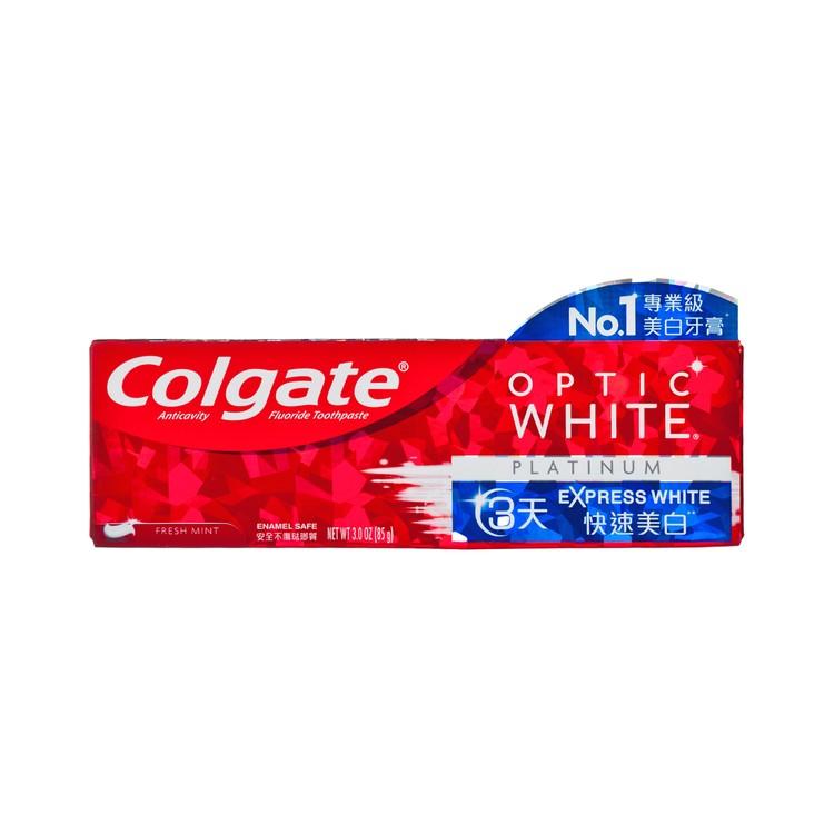 COLGATE - OPTIC WHITE-EXPRESS WHITE TOOTHPASTE - 85G