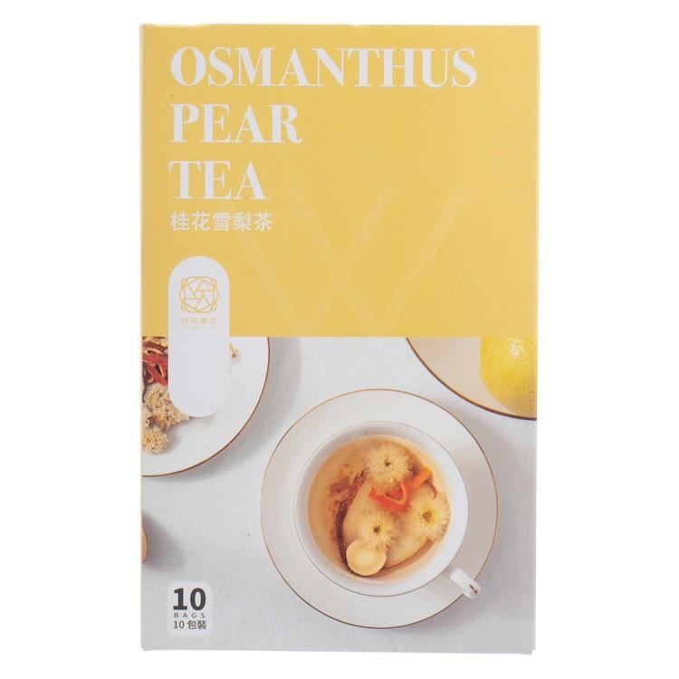 HO CHA - BOX SET-OSMANTHUS PEAR TEA - 10'S