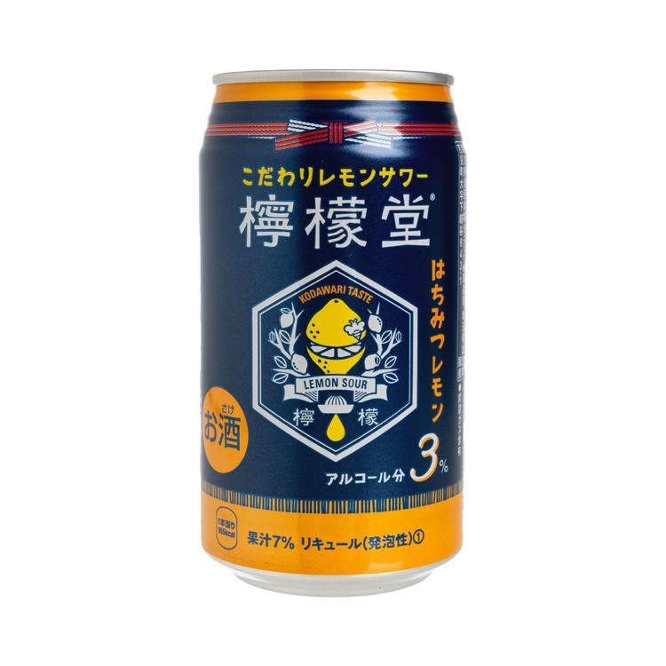 可口可樂 -檸檬堂 - 汽泡酒 - 蜂蜜 - 350ML