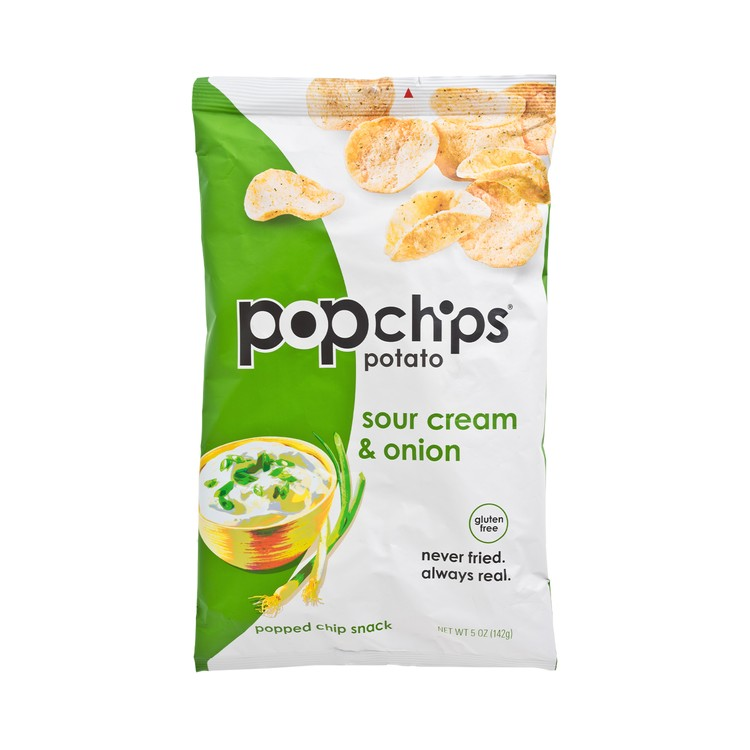 POPCHIPS - POTATO CHIPS-SOUR CREAM & ONION POTATO - 5OZ
