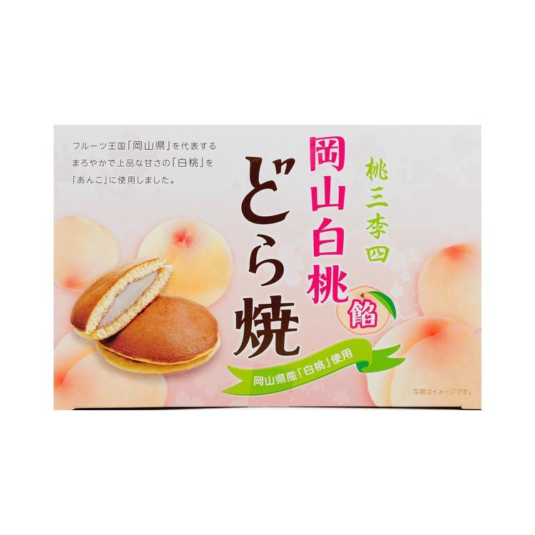 一榮食品 - 銅鑼燒-白桃 - 8'S