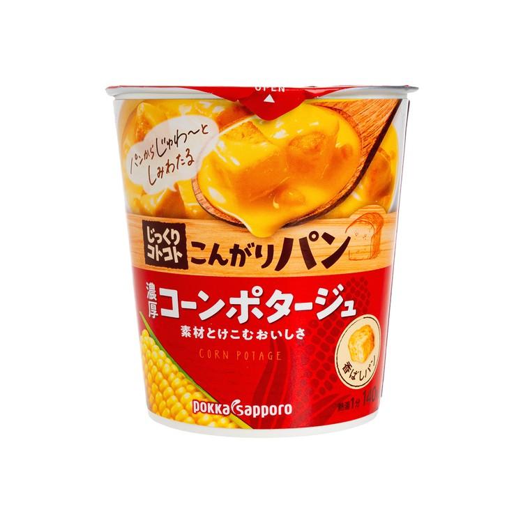 POKKA SAPPORO - 麵包粒粟米忌廉濃湯杯 - 31.7G