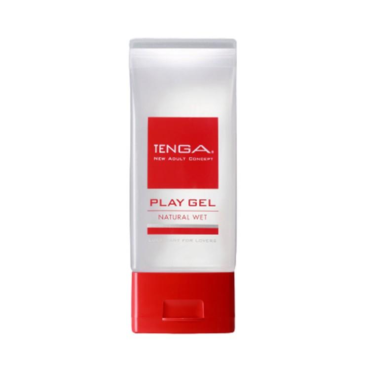TENGA - PLAY GEL 玩趣水性潤滑劑-NATURAL WET-紅 |情趣提升 - 150ML