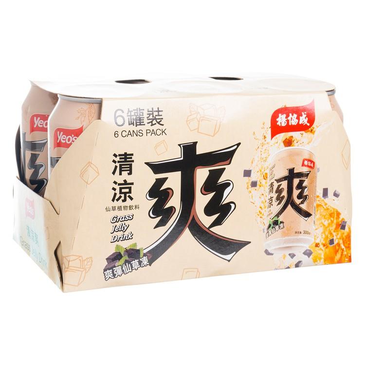 YEO'S - GRASS JELLY DRINK - 300MLX6