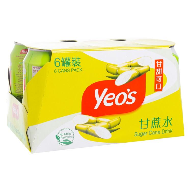 YEO'S - SUGAR CANE DRINK - 300MLX6