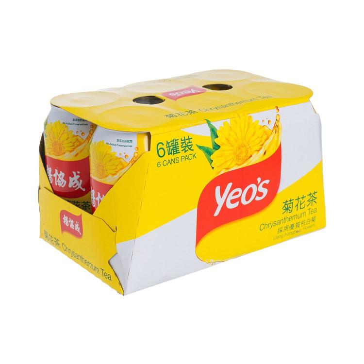 YEO'S - CHRYSANTHEMUM TEA - 300MLX6