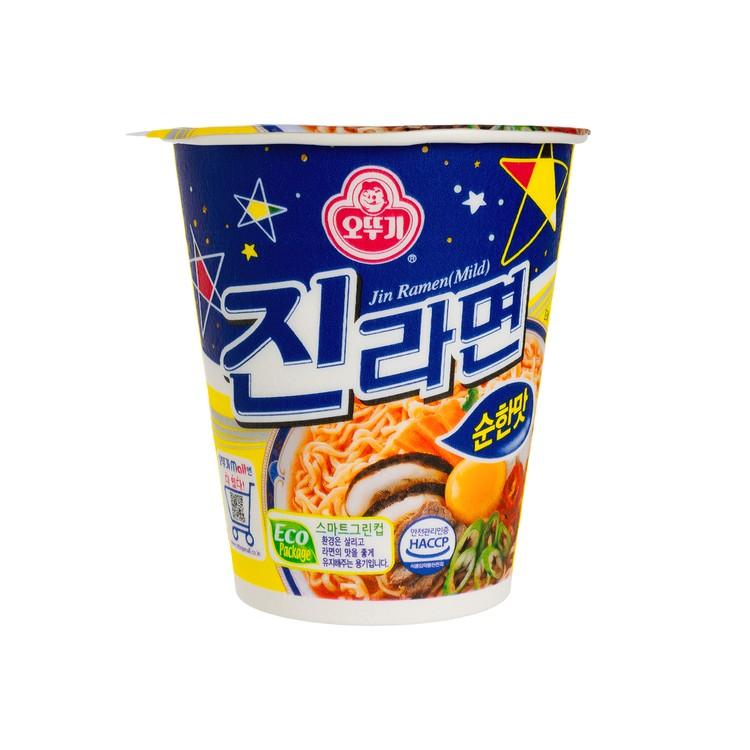 不倒翁 - 杯麵-真拉麵-牛肉味 - 65G