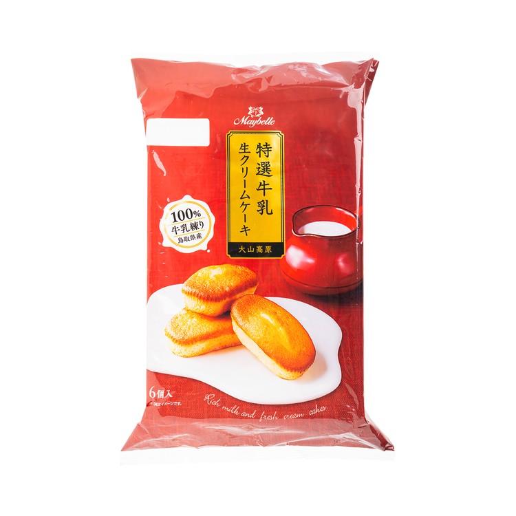 丸中製菓 - 濃厚鮮奶油蛋糕 - 6'S