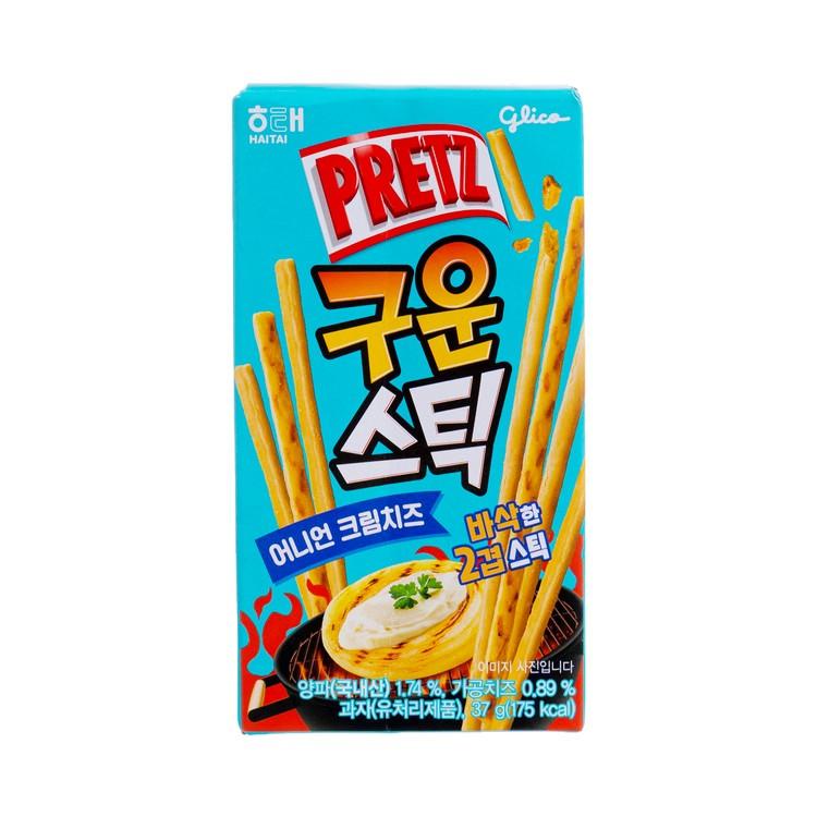 GLICO - PRETZ  ONION CREAM CHEESE POCKY  - 37G