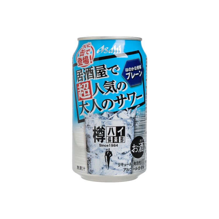 朝日 - TARU HI 俱樂部 原味有汽酒 - 350ML