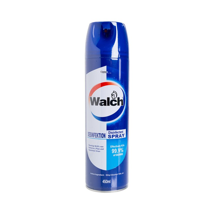 WALCH -  DISINFECTANT SPRAY - 450ML