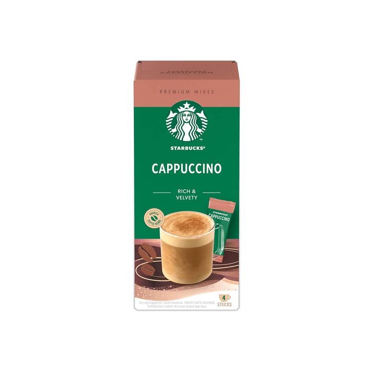 STARBUCKS - CAPPUCCINO PREMIUM COFFEE  - 4'S