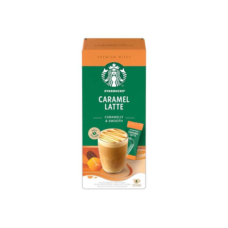STARBUCKS 星巴克 - 即溶咖啡 -焦糖咖啡 - 4'S