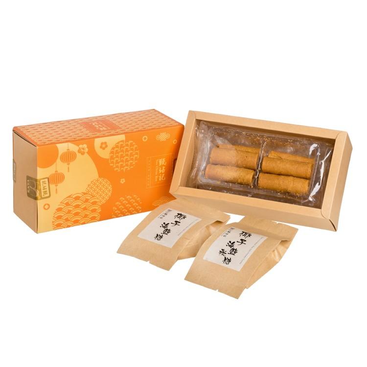 YAN CHIM KEE - GIFT BOX-COCONUT CANDY & EGGROLL - 148G