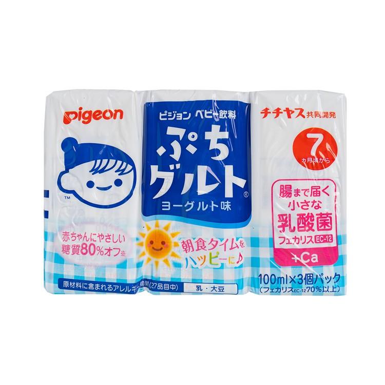 PIGEON - 乳酪味飲品 - 100MLX3