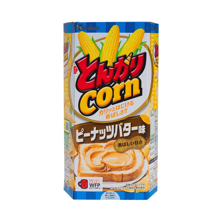 HOUSE - TONGARI CORN- PEANUT BUTTER FLAVOUR - 75G
