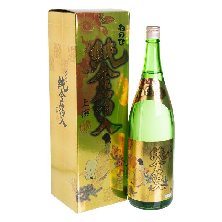 盛田酒造 - 上撰純金萡清酒 - 1.8L