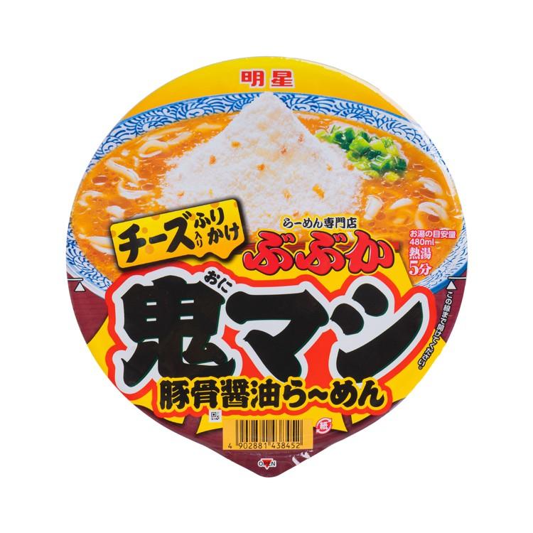 明星 - 特濃芝士醬油豚骨拉麵 - 116G