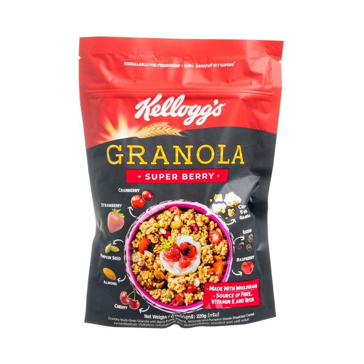 KELLOGG'S - GRANOLA- SUPER BERRY - 220G