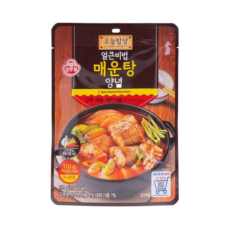 不倒翁 - 香辣海鮮湯醬料包 - 110G