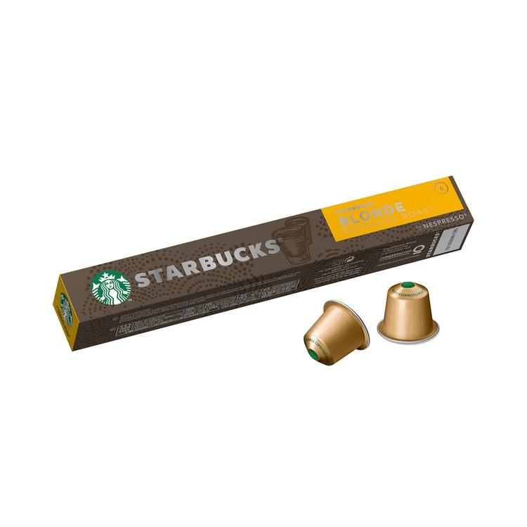 STARBUCKS 星巴克 - 黃金特濃烘焙咖啡 Nespresso 咖啡粉囊 - 10'S