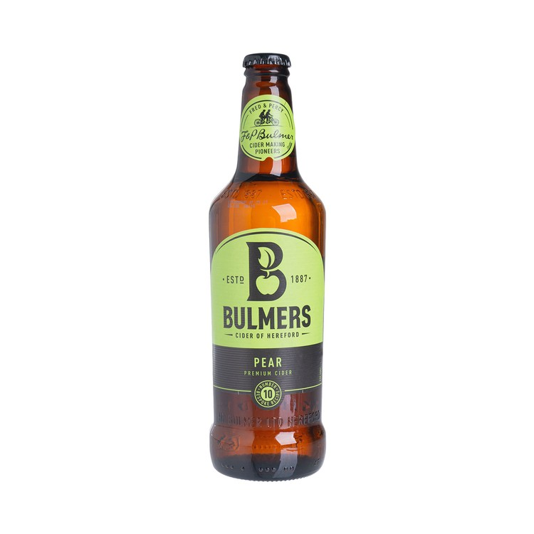 BULMERS - PREMIUM CIDER - PEAR (BEST BEFORE: 31 MAY 2021) - 500ML