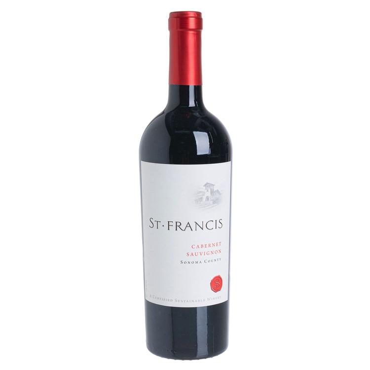 ST. FRANCIS - RED WINE - SONOMA CABERNET SAUVIGNON - 750ML