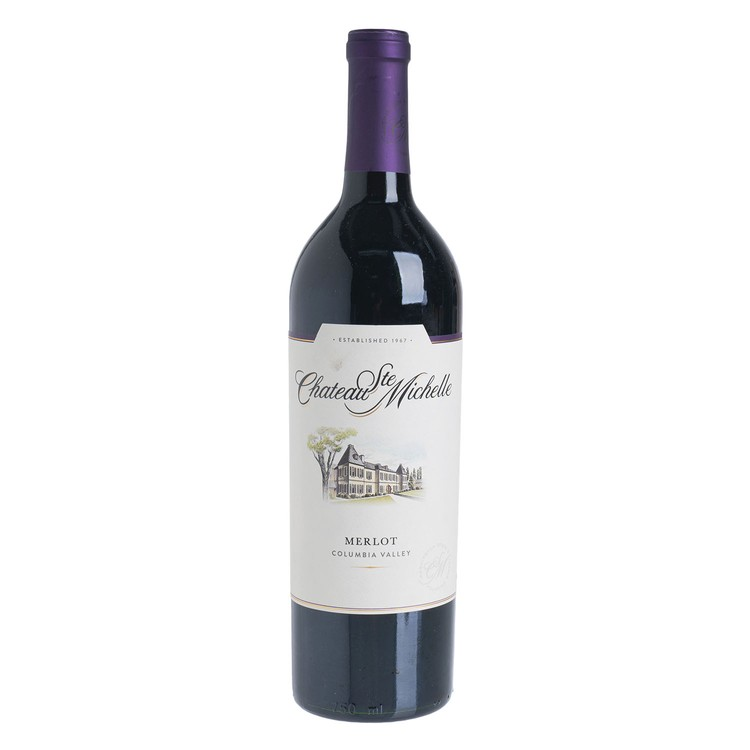 CHATEAU STE. MICHELLE - RED WINE - COLUMBIA VALLEY MERLOT - 750ML
