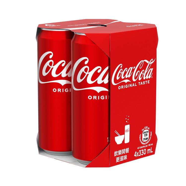COCA-COLA - COKE-TALL CAN - 330MLX4