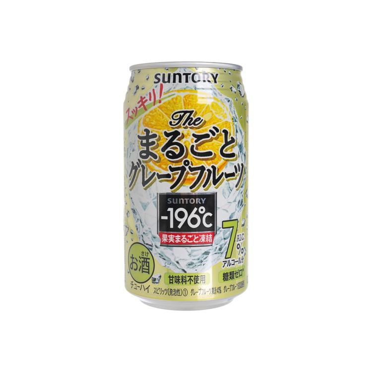 SUNTORY - -196℃ CHUHAI BEER-GRAPEFRUIT - 350ML