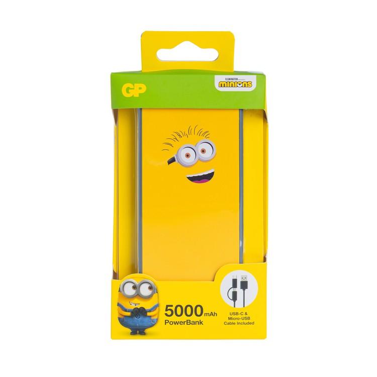 GP - MINIONS LIMITED EDITION 5000MAH POWERBANK - HAPPY YELLOW - PC