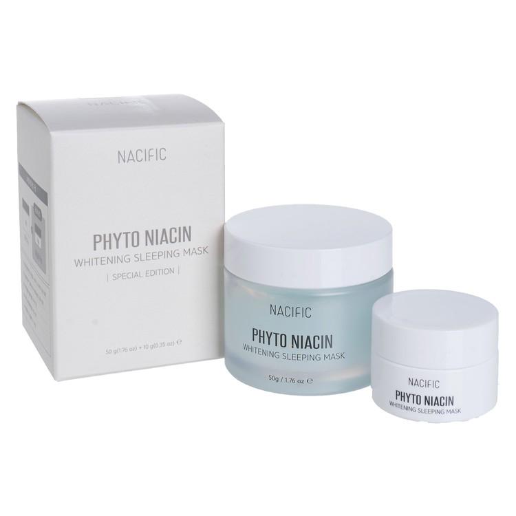 NACIFIC - PHYTO NIACIN WHITENING SLEEPING MASK - 50G+10G