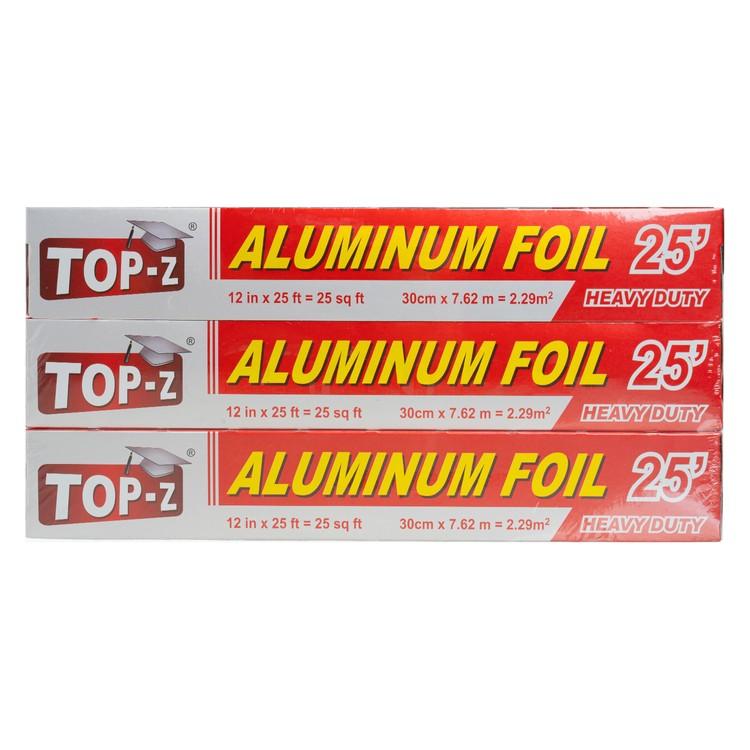 TOP-Z - ALUMINUM FOIL BUNDLE FREE HANG GLOVES - 25FTX3
