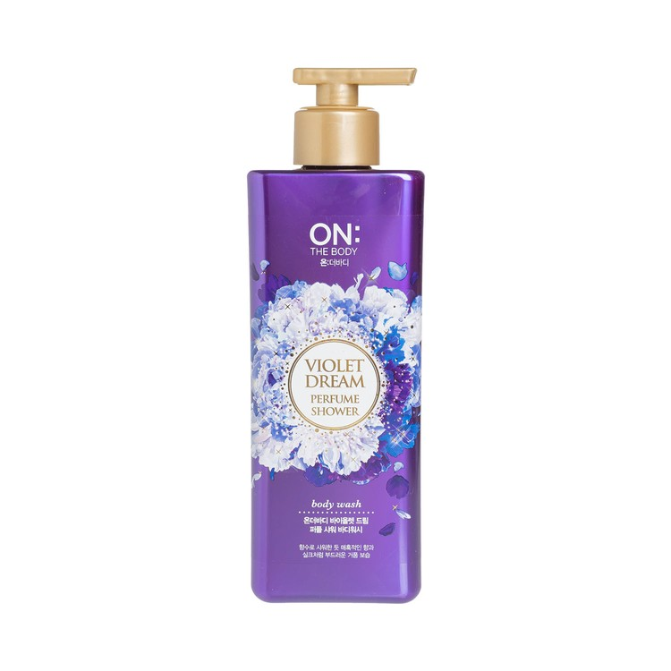 ON THE BODY (PARALLEL IMPORTED) - PERFUME SHOWER BODY WASH-VIOLET DREAM - 480ML