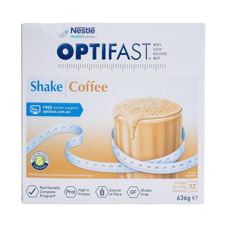 NESTLE HEALTH SCIENCE - OPTIFAST® WEIGHTLOSS MILKSHAKE (COFFEE FLAVOUR) - 53GX12