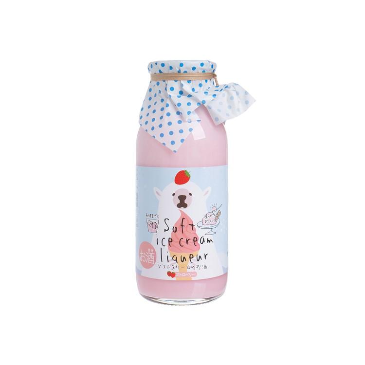 KIKUSUI - Soft Ice Cream Liqueur - Strawberry flavor - 170ML