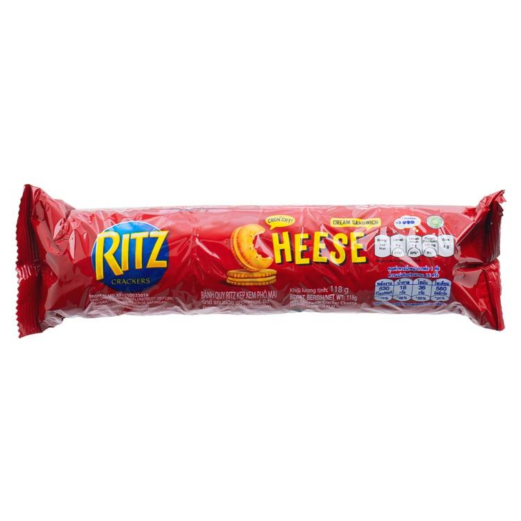 RITZ - CHEESE FLAVORED SANDWICH CRACKERS - 118G