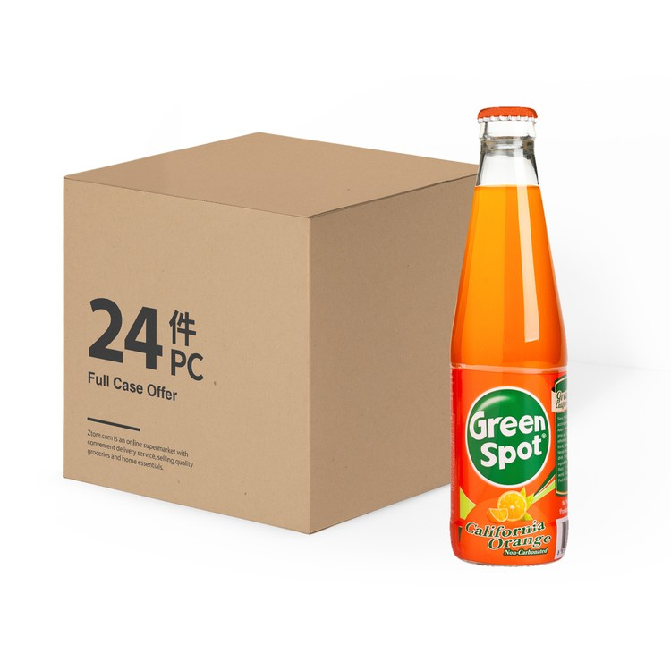 GREEN SPOT - ORGANGE JUICE DRINK - 260MLX24